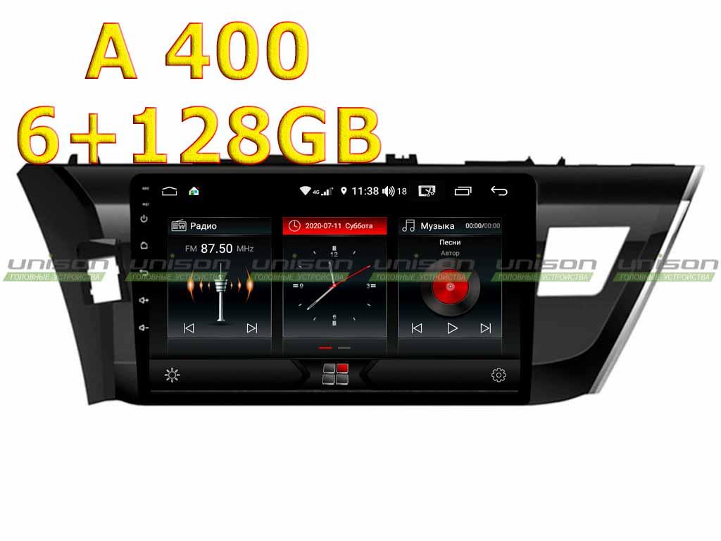 Штатная магнитола TOYOTA Corolla E170 2014-2016 Unison 10A6