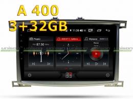 Штатная магнитола TOYOTA LC100 2003-2007 Unison 10A3