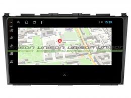 Штатная магнитола UNISON T1 для Honda CR-V 2006-2012 на Android
