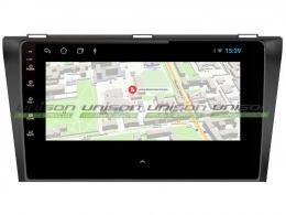Штатная магнитола UNISON T1 для Mazda 3 2008-2013 на Android