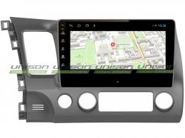 Штатная магнитола UNISON T1 для Honda Civic на Android
