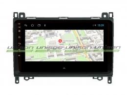 Штатная магнитола UNISON T1 для Mercedes-Benz A, B, Crafter на Android