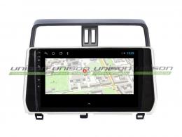 Штатная магнитола UNISON T1 для Toyota Prado 150 2017-2020 на Android