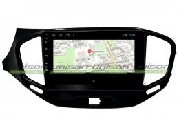 Штатная магнитола UNISON T1 для Lada Vesta на Android