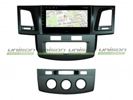 Штатная магнитола UNISON T1 для Toyota Hilux 2012+ на Android
