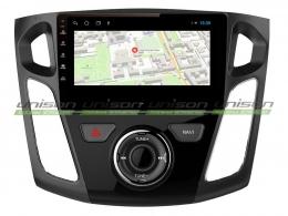 Штатная магнитола UNISON T1 для Ford Focus 3 на Android