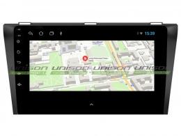 Штатная магнитола UNISON T1 для Mazda 3 2003-2009 на Android