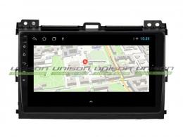Штатная магнитола UNISON T1 для Toyota Land Cruiser 120 на Android