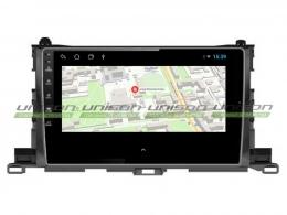 Штатная магнитола UNISON T1для Toyota Highlander 2013-2019 на Android