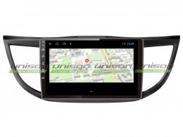Штатная магнитола UNISON T1 для Honda CR-V на Android