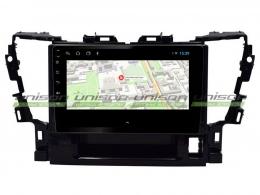 Штатная магнитола UNISON T1 для Toyota Alphard на Android