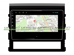 Штатная магнитола UNISON T1 для Toyota Land Cruiser 200 2015+ на Android
