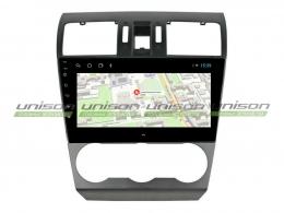 Штатная магнитола UNISON T1 для Subaru Forester, XV 2013-2015 на Android