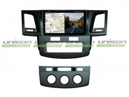 Штатная магнитола UNISON S 2/32 для Toyota Hilux 2011-2015