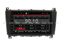Штатная магнитола MERCEDES W463 рестайл/CLK/CLC/SLK Unison 8HA-T3