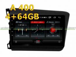 Штатная магнитола HONDA Civic 2011-2015 Unison 10A4